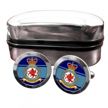 No. 18 Squadron (Royal Air Force) Round Cufflinks