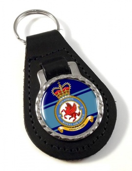 No. 18 Squadron (Royal Air Force) Leather Key Fob