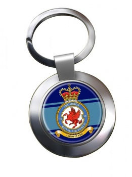 No. 18 Squadron (Royal Air Force) Chrome Key Ring