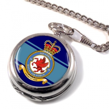 No. 18 Squadron (Royal Air Force) Pocket Watch