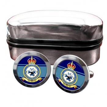 No. 185 Squadron (Royal Air Force) Round Cufflinks