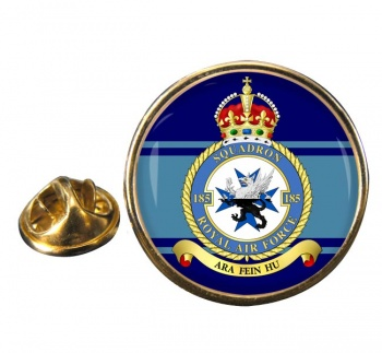 No. 185 Squadron (Royal Air Force) Round Pin Badge
