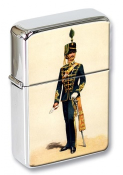 18th Royal Hussars (Queen Mary's Own) 1869 Flip Top Lighter