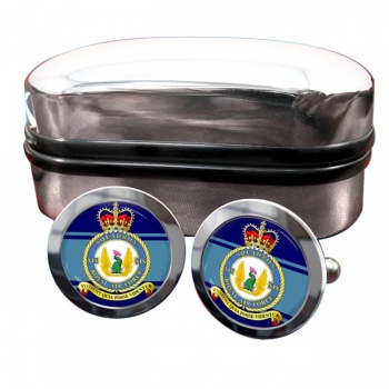 No. 19 Squadron (Royal Air Force) Round Cufflinks