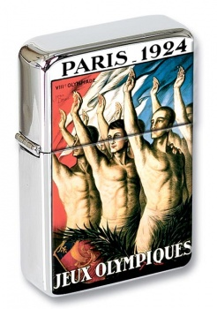 1924 Olympics Flip Top Lighter