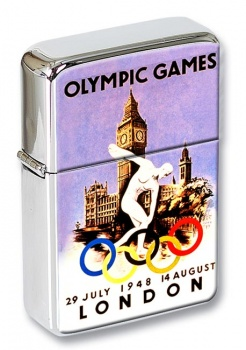 London Olympics 1948 Flip Top Lighter