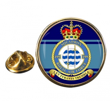 No. 199 Squadron (Royal Air Force) Round Pin Badge