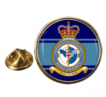 No. 1 Aeromedical Evacuation Squadron (Royal Air Force) Round Pin Badge