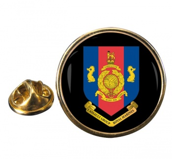 1 Assault Group Royal Marines (1AGRM) Round Pin Badge