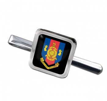 1 Assault Group Royal Marines (1AGRM) Square Tie Clip