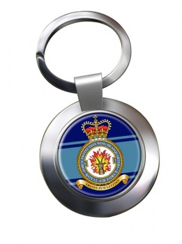 No. 2 Force Protection Wing (Royal Air Force) Chrome Key Ring