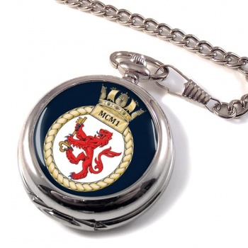 First Mine Counter Measures Squadron (MCM1) RN Pocket Watch