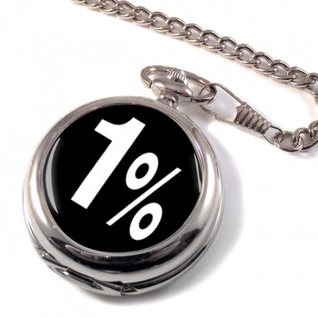 Outlaw Biker 1% Pocket Watch