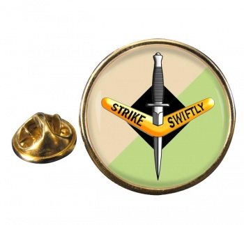 1st Commando Regiment (Australian Army) Round Pin Badge