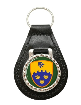 1st (Southern) Brigade (Ireland) Leather Key Fob