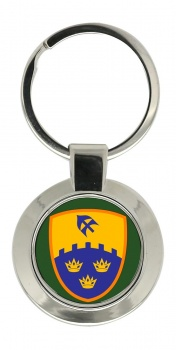 1st (Southern) Brigade (Ireland) Chrome Key Ring