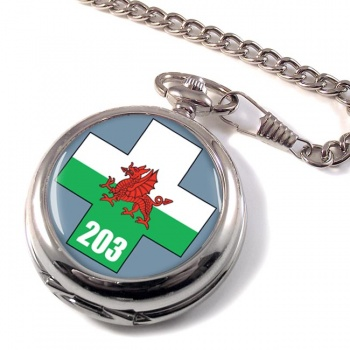 203 Field Hospital Pocket Watch