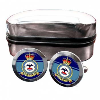 No. 204 Squadron (Royal Air Force) Round Cufflinks