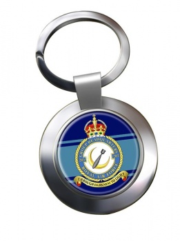 No. 205 Group Headquarters (Royal Air Force) Chrome Key Ring