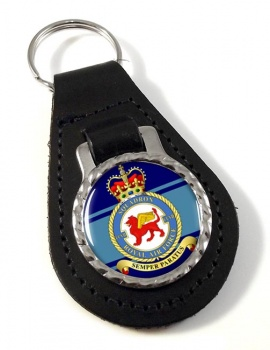No. 207 Squadron (Royal Air Force) Leather Key Fob