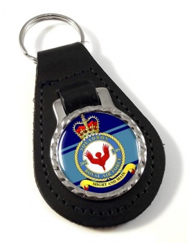 No. 209 Squadron (Royal Air Force) Leather Key Fob