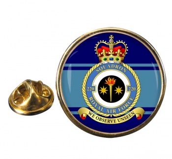 No. 220 Squadron (Royal Air Force) Round Pin Badge