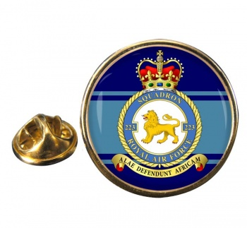 No. 223 Squadron (Royal Air Force) Round Pin Badge