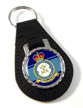 No. 225 Squadron (Royal Air Force) Leather Key Fob