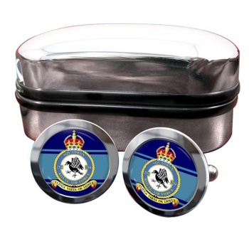 No. 254 Squadron (Royal Air Force) Round Cufflinks