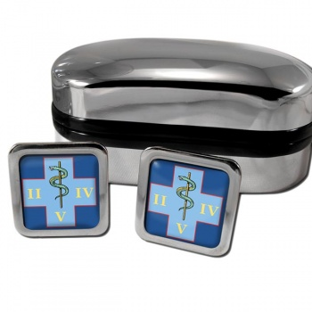 254 Medical Regiment (British Army) Square Cufflinks
