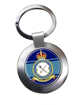 No. 260 Squadron (Royal Air Force) Chrome Key Ring