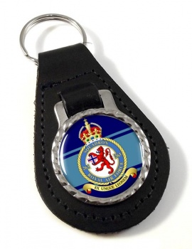 No. 263 Squadron (Royal Air Force) Leather Key Fob