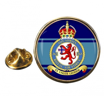 No. 263 Squadron (Royal Air Force) Round Pin Badge