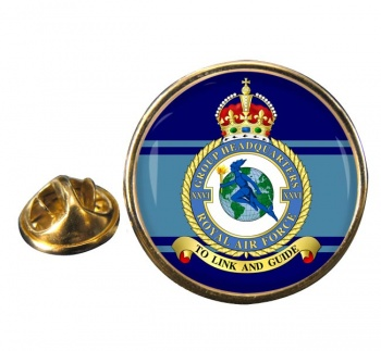 No. 26 Group Headquarters (Royal Air Force) Round Pin Badge