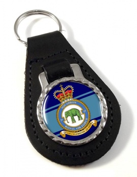 No. 27 Squadron (Royal Air Force) Leather Key Fob