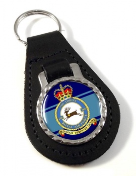 No. 288 Squadron (Royal Air Force) Leather Key Fob