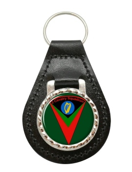 2nd Cavalry (Ireland) Leather Key Fob