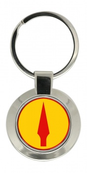 2nd (Eastern) Brigade (Ireland) Chrome Key Ring