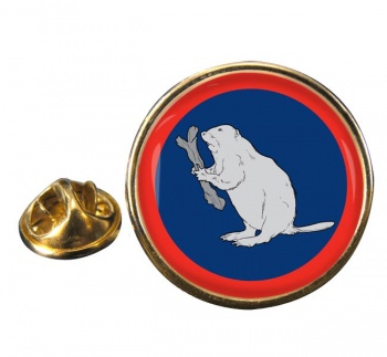 2 Operational Support Group RLC (British Army)  Round Pin Badge