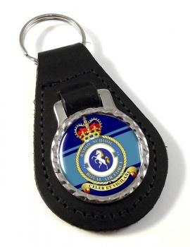 No. 2 Radio School (Yatesbury) (Royal Air Force) Leather Key Fob