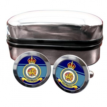 No. 313 Ferry Training Unit Transport Command (Royal Air Force) Round Cufflinks