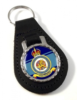 No. 313 Ferry Training Unit Transport Command (Royal Air Force) Leather Key Fob