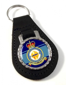 No. 33 Signals Unit (Royal Air Force) Leather Key Fob
