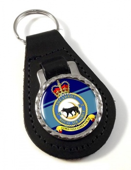 No. 34 Squadron (Royal Air Force) Leather Key Fob
