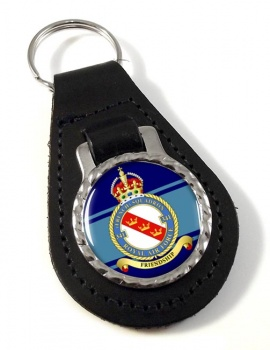 No. 341 French Squadron (Royal Air Force) Leather Key Fob