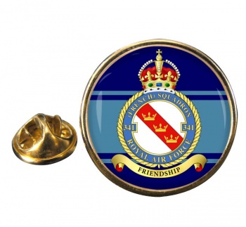 No. 341 French Squadron (Royal Air Force) Round Pin Badge