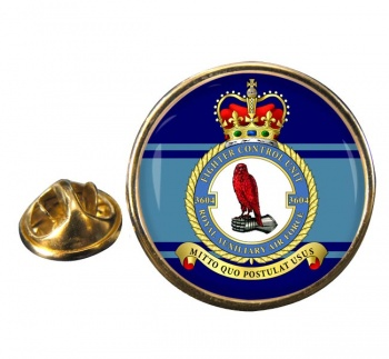 No. 3604 Fighter Control Unit RAuxAF Round Pin Badge