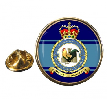 No. 3620 Fighter Control Unit RAuxAF  Round Pin Badge