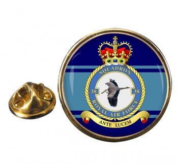No. 38 Squadron (Royal Air Force) Round Pin Badge