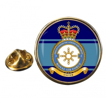 No. 3 Field Communications Squadron (Royal Air Force) Round Pin Badge